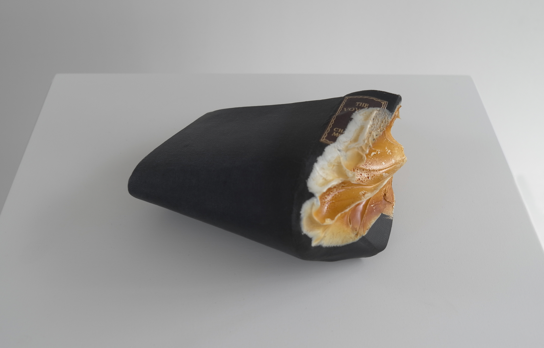 Jonathan Callan, The Voyage, 2001, Paper and Silicone Rubber, 19 x 21 x 10cm